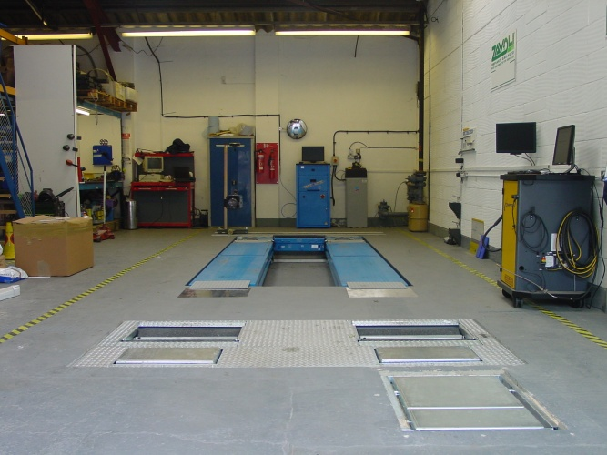 Class 4 ATL lane and Suspension Tester
