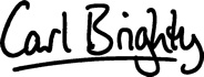 Carl Brighty's signature